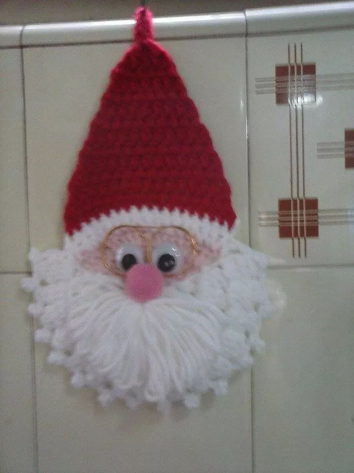 Adornos Navide 241 Ostejido Al Crochet Mi Tejido Artesanal