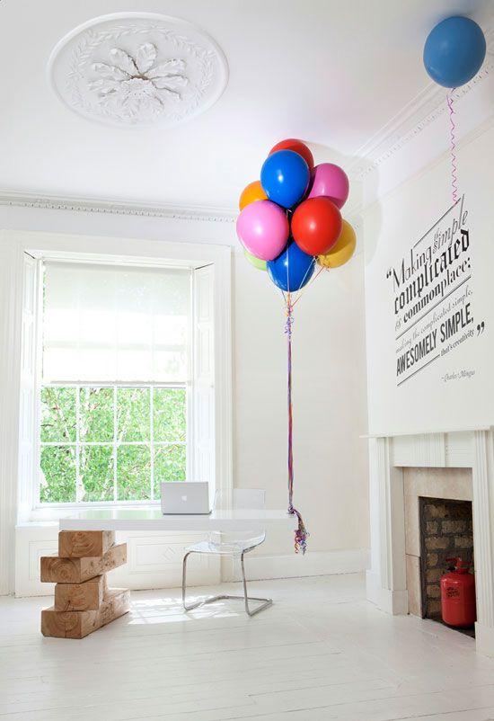 Playful: Offices Desks, Helium Balloon, Hot Air Balloon, Receptions Desks, Girls Generation, Boys, Balloons, Receptions Area, Design