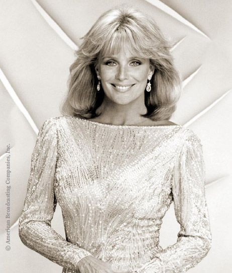 Dynasty's Golden Globe Award-winning winning actress Linda Evans is participating in the 2012 Red Dress Collection Fashion Show