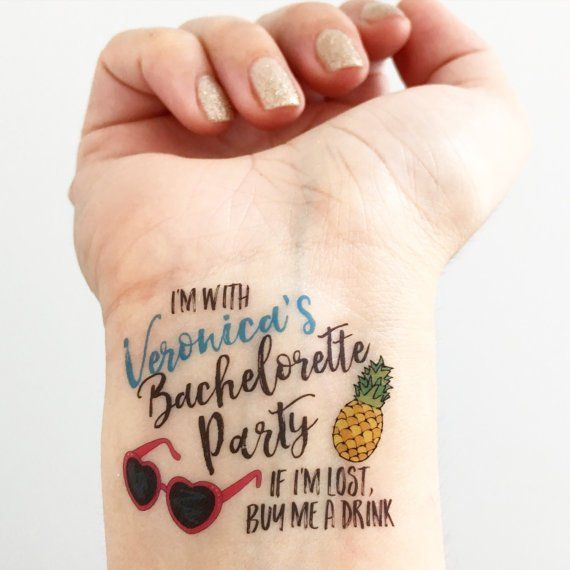 22 best ri bachelorette weekend images on pinterest for Tattoo party ideas