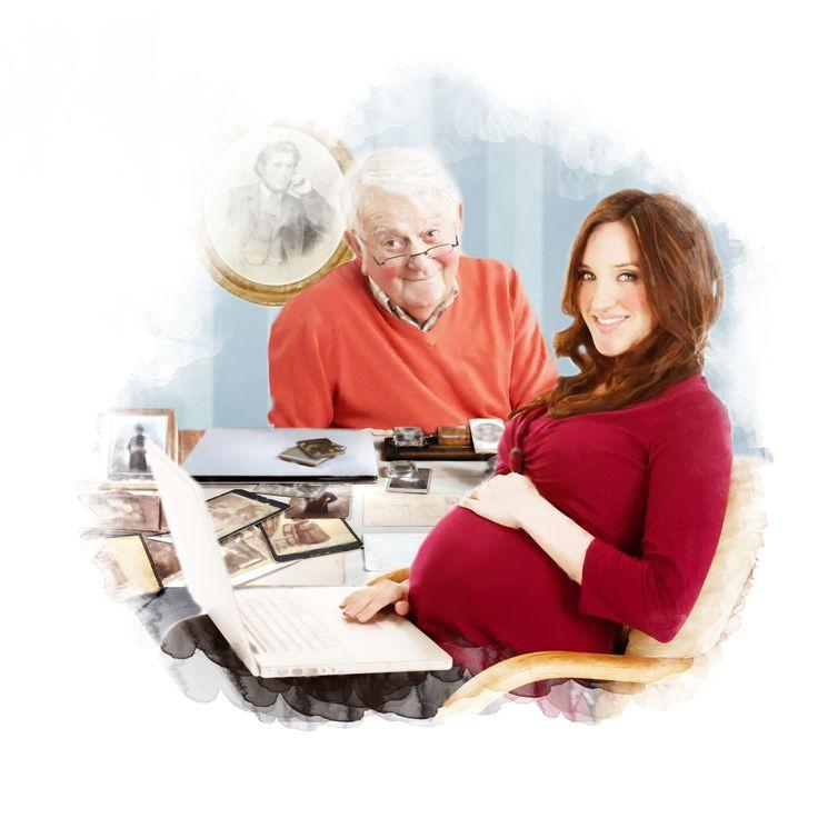 Photoshop-illustration til Familie Journal.