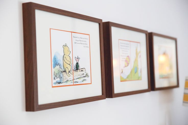 Famed storybook pages library themed baby 39 s room once for Elle decor nursery