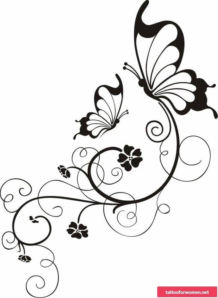 Chichewa Branches Tattoo: schöne Vorlagen für verschiedene Körperteile
