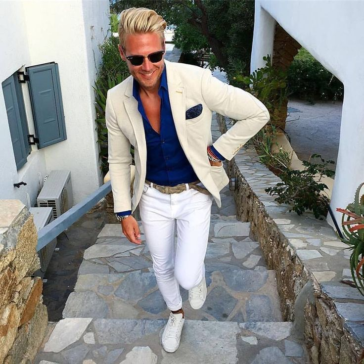Total White man look for summer!!!