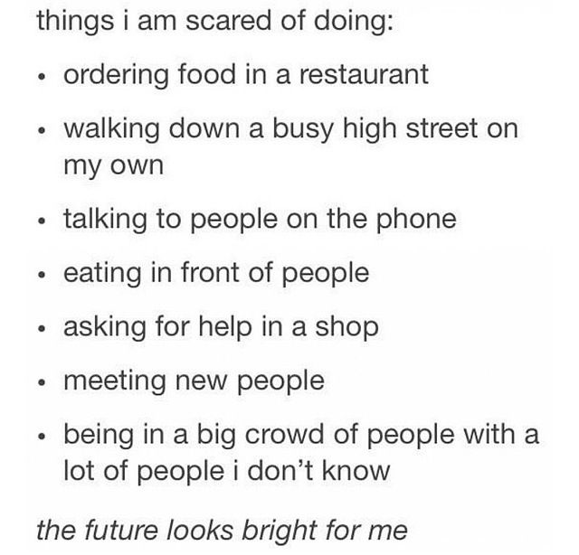 The truth of social anxiety