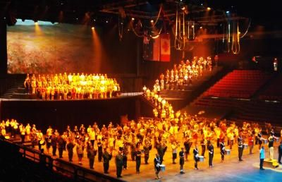 Always a favourite, the Royal #NovaScotia International Tattoo takes place each July in #Halifax.