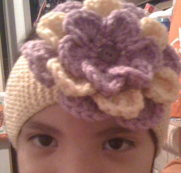 1000 images about diademas tejidas headbands on - Diademas a crochet ...