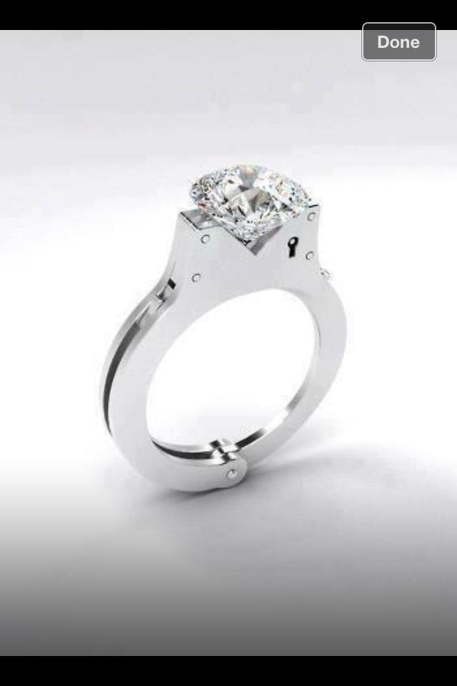 Cool ring for a police office or wife of one :)