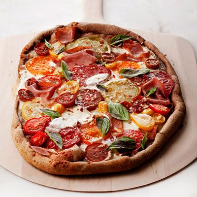 13 Easy Pizza Recipes Under 400 Calories: Tomatoes Pizza, 13 Easy, Low Calories, Pizza Pies, Healthy Pizza, Healthy Recipes, Homemade Pizza, 400 Calories, Easy Pizza Recipes
