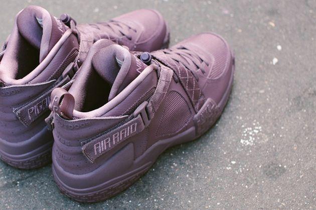 #Pigalle x #Nike Air Raid Burgundy #sneakers