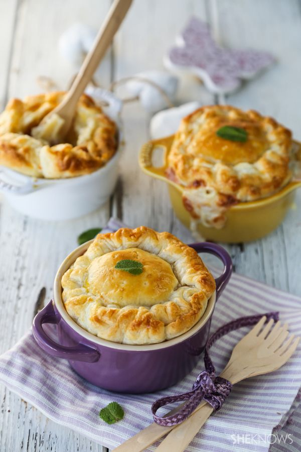 mini mac amp cheese pies with parmesan and pancetta from sheknows com ...