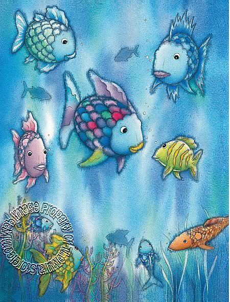 The Rainbow Fish Mural 426