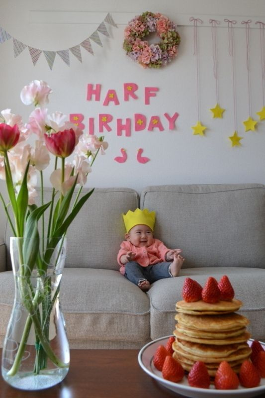 【6ヶ月のお祝い】 ユーザ名:ringonokiさん エントリー:スクラッピンアイデア部門 #ハーフバースデー