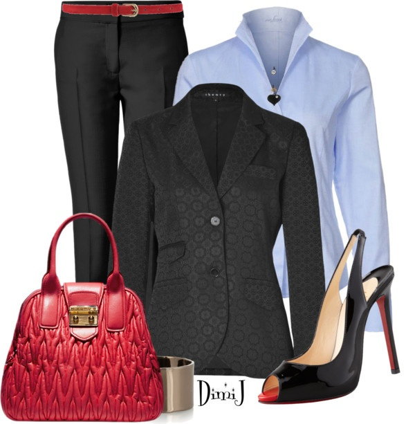 """Office Look - Suit Collection"" by dimij on Polyvore"
