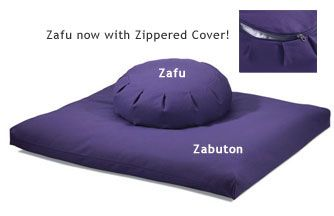 Zafu Zabuton Set, Classic: DharmaCrafts meditation supplies