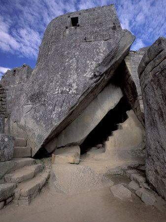Temple of the Sun, Circular Window Marks June Solstice, Machu Picchu, Peru