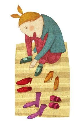 Cuenta cuenta - Leonor Pérez - Ilustradora Chilena