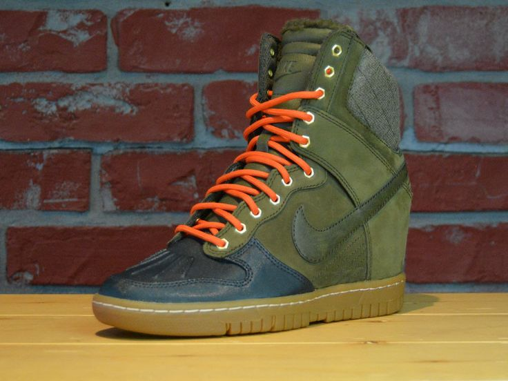 promo code 3305e d8e96 ... Details about NIKE WOMENS AIR MAX DUNK SKY HI SNEAKERBOOT 684954-300  DARK LODEN US Nike Dunk Sky Hi Sneakerboot 2.0 Size ...