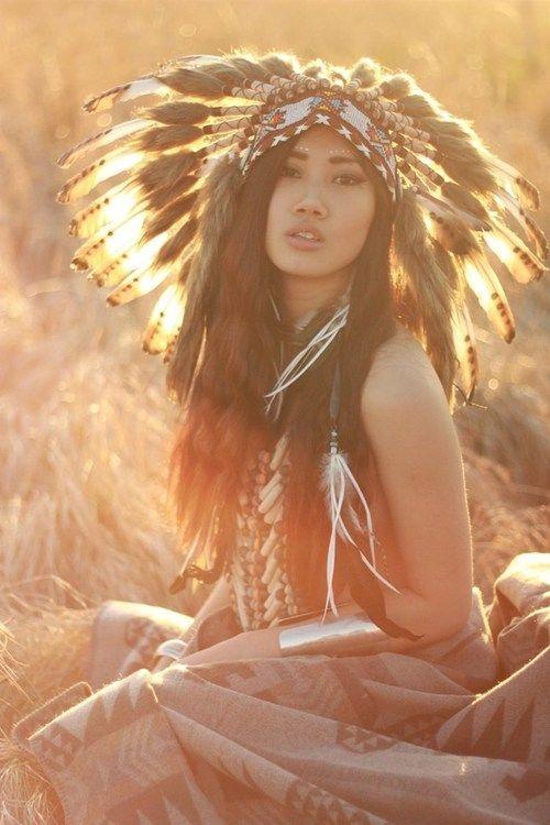 good looking native american women