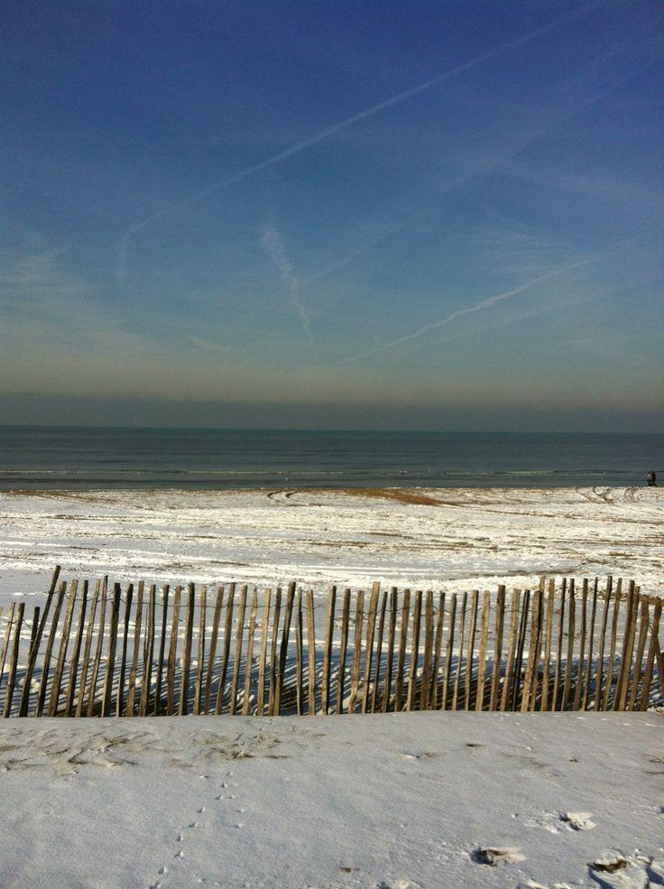 Noordwijk strand winter