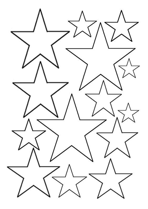 csillag sablon - Google keresés: