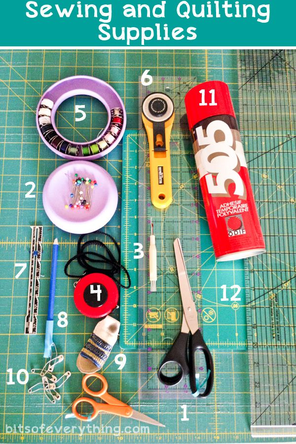 Quilting: My Favorite Quilting Supplies - Bits of Everything