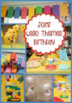How to Build Your Own Brilliant Boy and Girl Lego Party