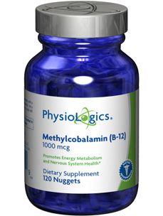 Physiologics Methylcobalamin b12 1000 mcg