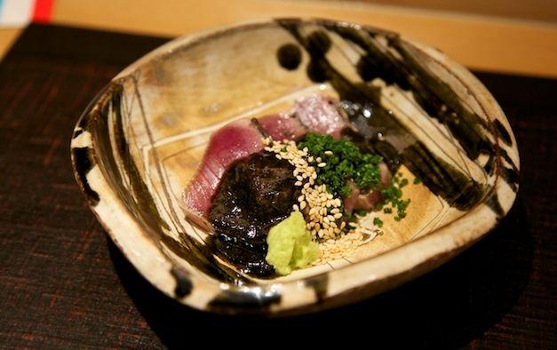 Jimbocho Den: few top restaurants are such fun to eat in.