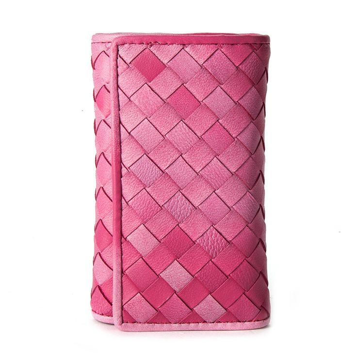 Comprar billeteras de cuero auténtico pequeño para las mujeres carpeta clave [ANW61119] - €22.40 : bzbolsos.com, comprar bolsos online
