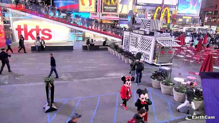 Street cam, Times Square