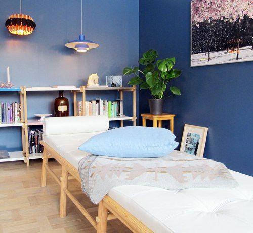 Paint colour ¦ Nordisk hav, blue