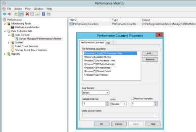 Fixing Missing Performance Counters from Server Manager #performance #counters, #server #manager, #windows #server #2012 http://indiana.nef2.com/fixing-missing-performance-counters-from-server-manager-performance-counters-server-manager-windows-server-2012/  # Fixing Missing Performance Counters from Server Manager Q: I am managing a Windows Server 2012 server from Server Manager and getting an error for its performance counters–it says the Data Collector Set was not found–how do I fix it?…