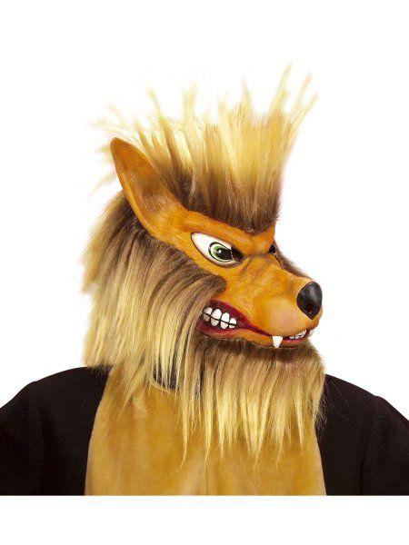 """https://11ter11ter.de/22134934.html Latex Überziehmaske """"Wolf"""" mit Plüsch für Erwachsene #11ter11ter #Maske #Latex #Tiermaske #Tier #Mask #Animal #Kostüm"""