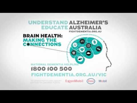 Great tips here from our Australia friends! Alzheimers Australia presents Brain Health: Making the connections [VIDEO]