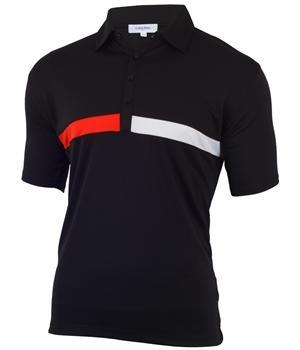 Calvin Klein Mens Columbus Tech Golf Polo 2012
