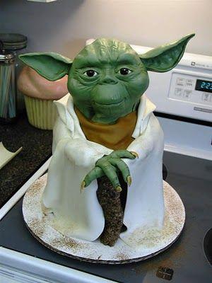 YODA CAKE!!!!!!