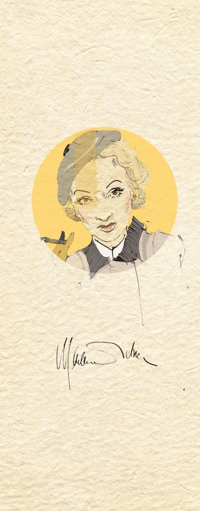 Dietrich  the Golden Age of Hollywood on Behance