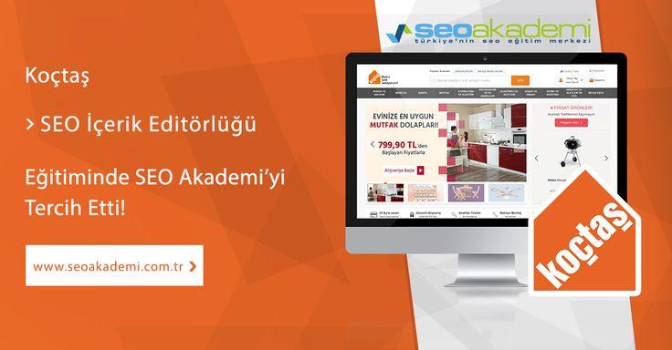 Türkiye'nin ev geliştirme perakendeciliğinin lider kuruluşu Koçtaş SEO İçerik Editörlüğü Eğitimi için SEO Akademi'yi tercih etti! http://www.seoakademi.com.tr