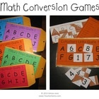 These Math Conversions Manila Envelope Games make for great math center activities! Also a great way to teach common core standard CCSS.Math.Conten...