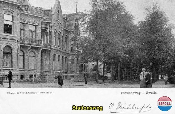 Stationsweg Zwolle (jaartal: 1910 tot 1920) - Foto's SERC