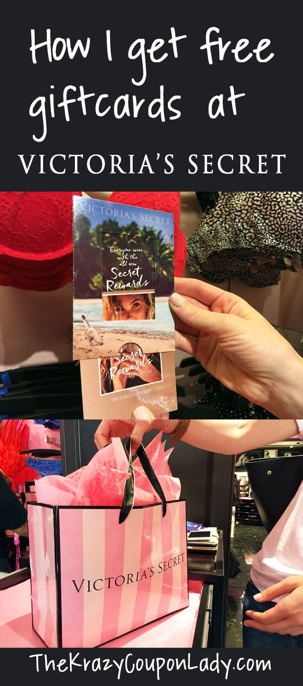 How I Shop for Free at Victoria's Secret with Secret Rewards Cards