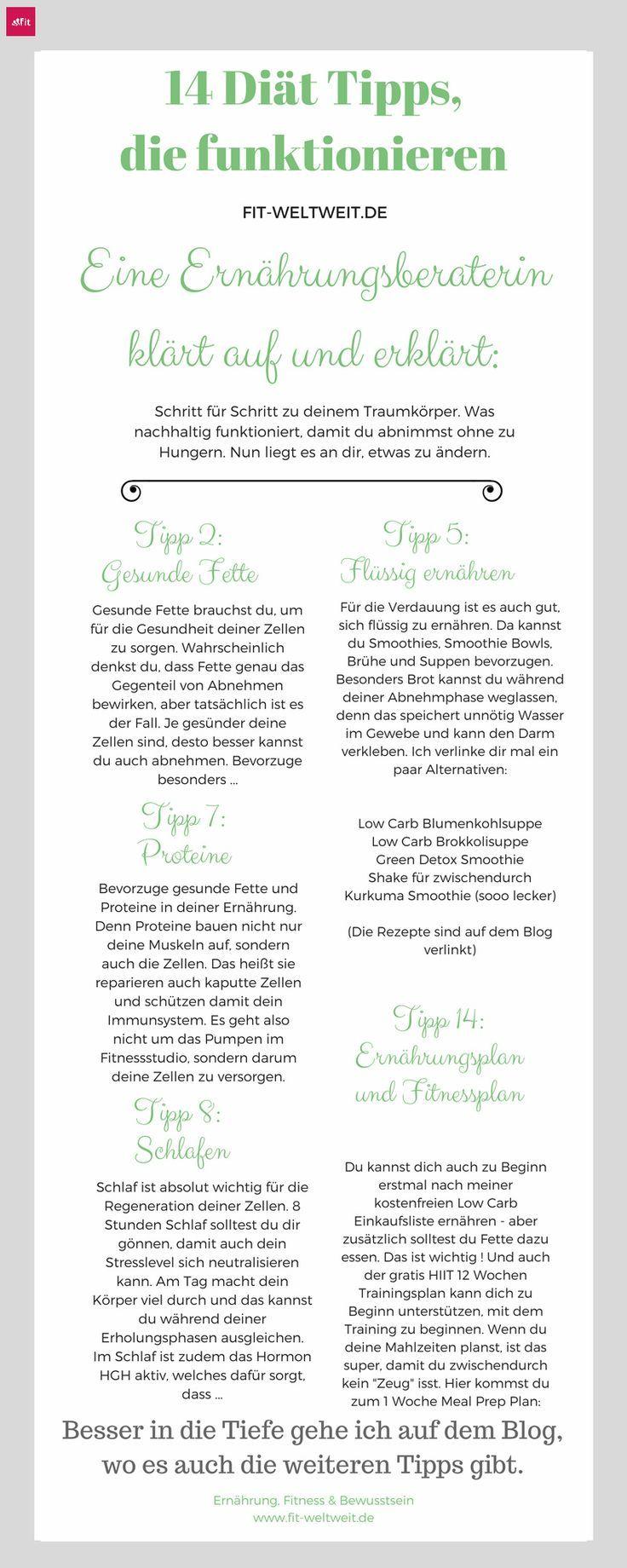 14 Diat Tipps Die Langfristig Funktionieren Tipps Und Tricks