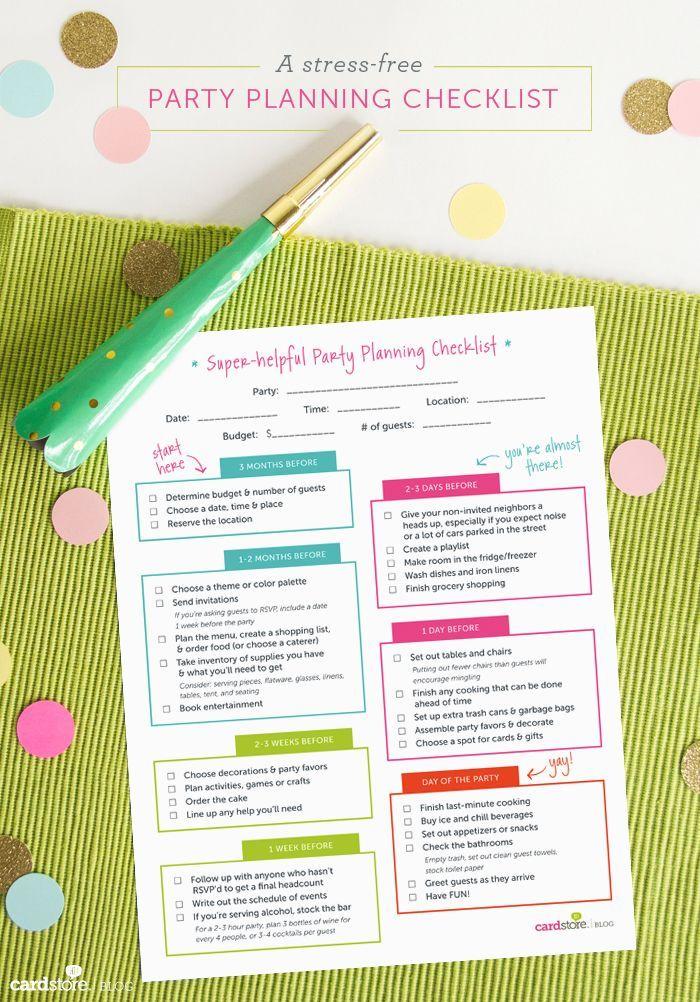 Best 25+ Birthday party checklist ideas on Pinterest Party - birthday planner template