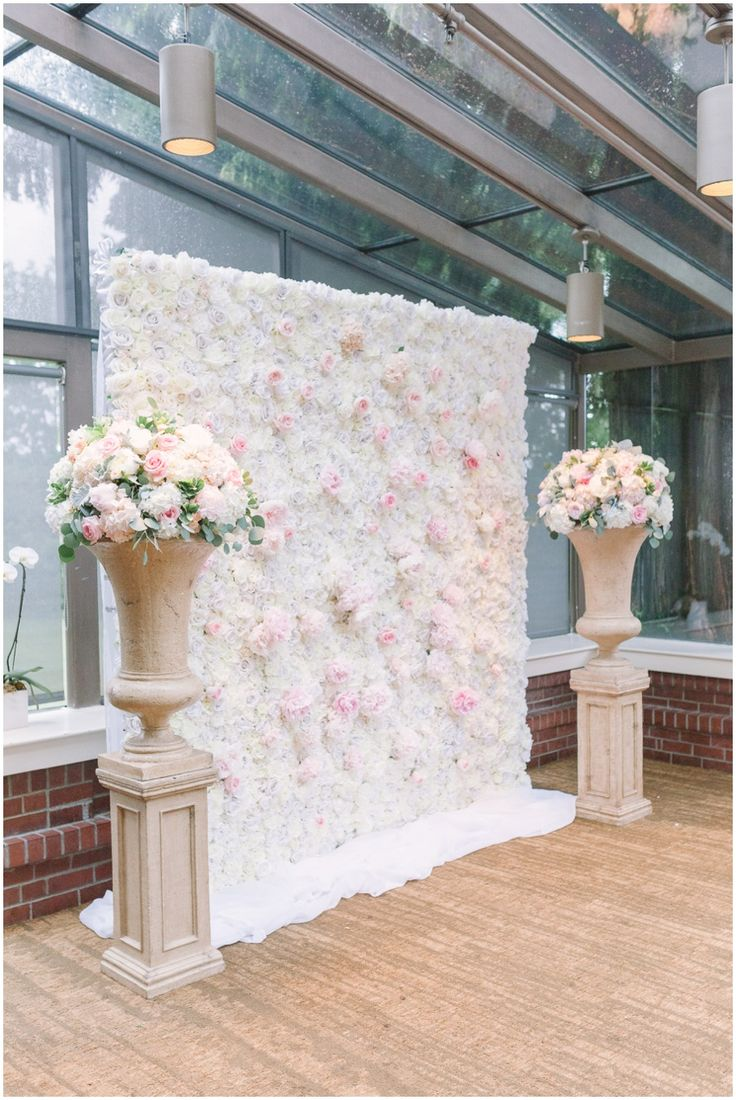 151 best hanging flowers backdrops images on pinterest wedding brockhouse wedding dh flower wall solutioingenieria Image collections