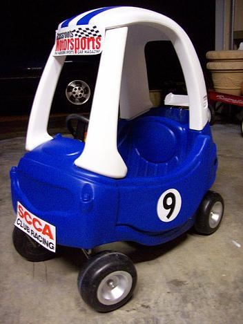 another lil' tikes makeover! make your kids' cozy coupe stand out from the rest!