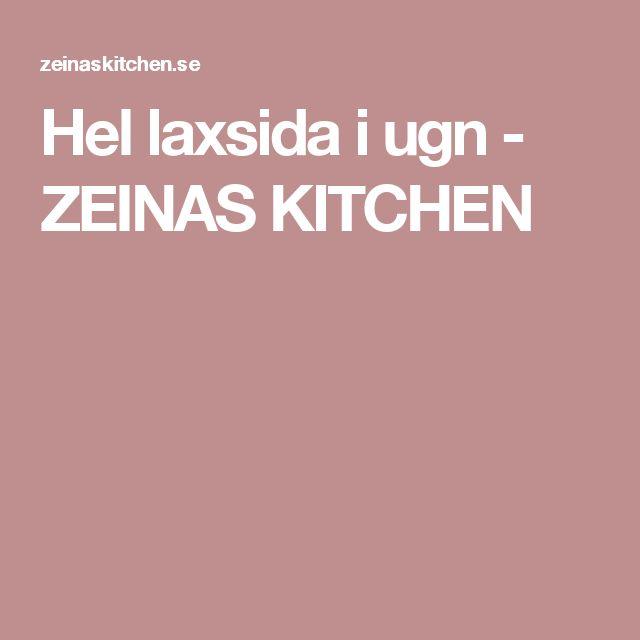Hel laxsida i ugn - ZEINAS KITCHEN