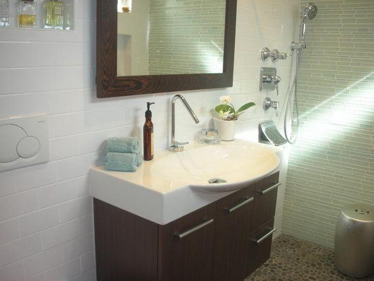 Small Sinks for Big Effect : Minimalist Small Bathroom Sinks
