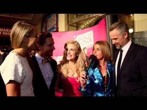 This is a really fun interview at Opening Night of Legally Blonde in Melbourne...what starts as a video with the gorgeous Lucy Durack who plays the lead role of Elle Woods ends up having nearly all the leads chatting together!!!