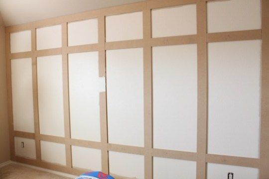 DIY Paneled Wall Tutorial For The Boy's Room ...